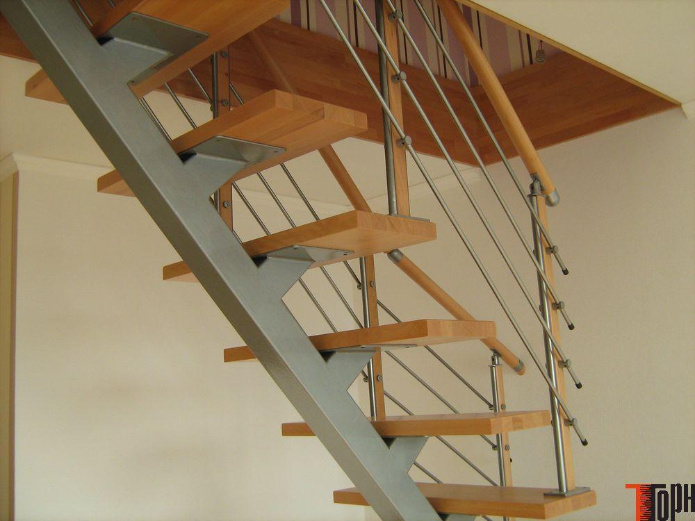 Лестницы на второй этаж своими руками железные