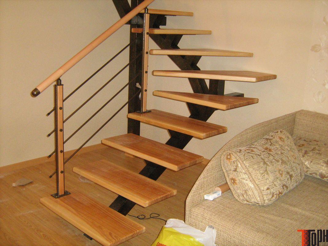 Как сделать металлическую лестницу на второй этаж в доме