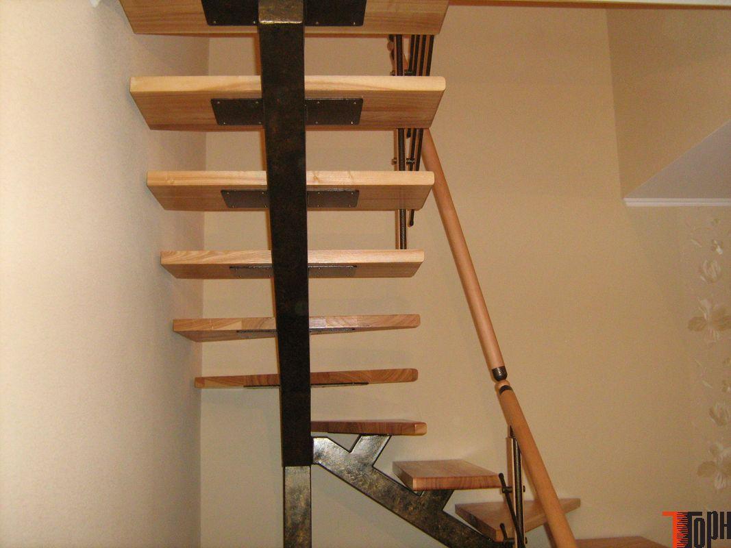 Лестницы из металла своими руками из трубы 720