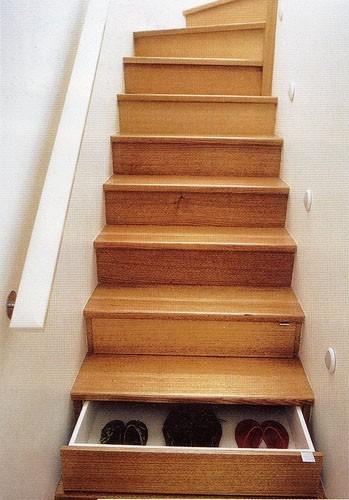 Необычные лестницы - лестница кладовая