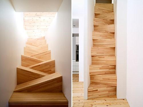 Необычные лестницы - скрюченная лестница