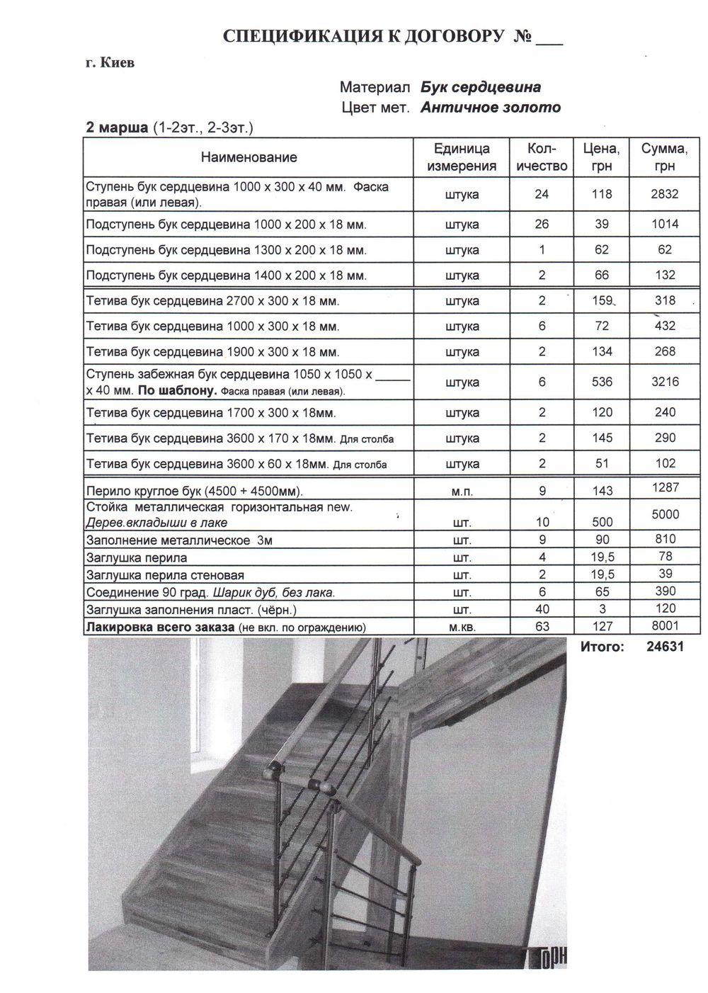 расценки на изготовление подъездных металлических лестниц