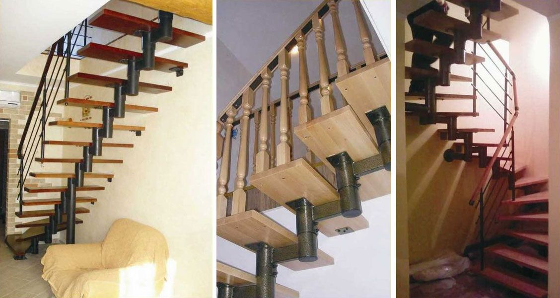 Легкие лестницы своими руками 79